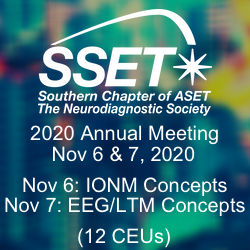 SSET 2020  Virtual Meeting Program